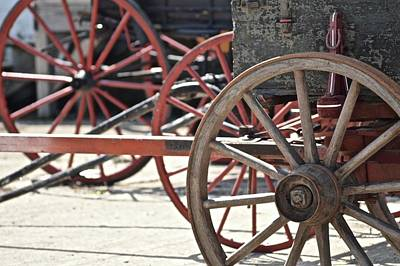 Photograph - Old Wheels by Photography by Tiwago