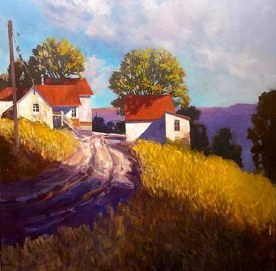 Painting - Old Willy's Barn by Jessica Anne Thomas