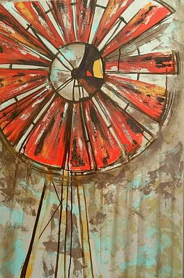 Painting - Old Windmill  by Kendra Sorum