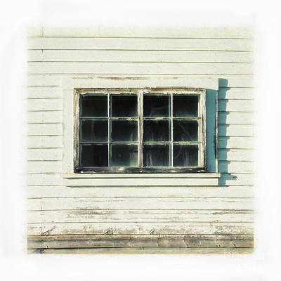 Photograph - Old Window 1 by Priska Wettstein