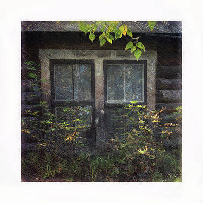 Photograph - Old Window 2 by Priska Wettstein
