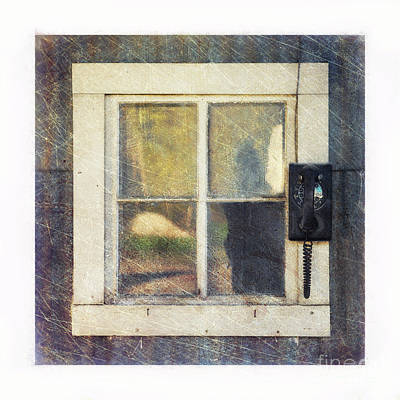 Photograph - Old Window 3 by Priska Wettstein