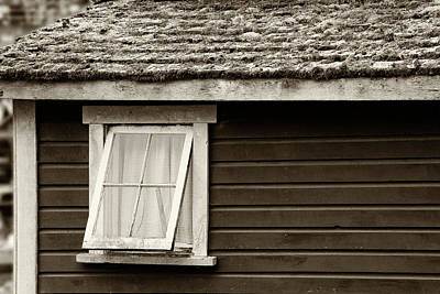 Photograph - Old Window - 365-105 by Inge Riis McDonald
