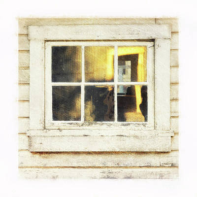 Photograph - Old Window 4 by Priska Wettstein
