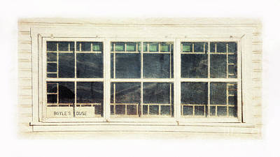 Photograph - Old Window 5 by Priska Wettstein