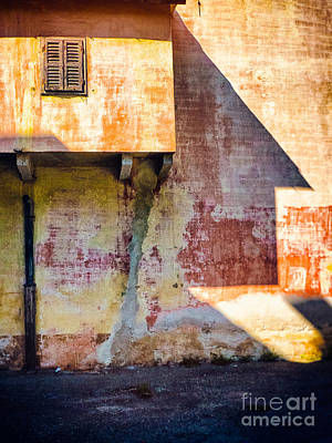 Photograph - Old Window And Big Shadow    by Silvia Ganora
