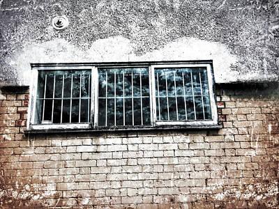 Old Window Bars Art Print by Tom Gowanlock