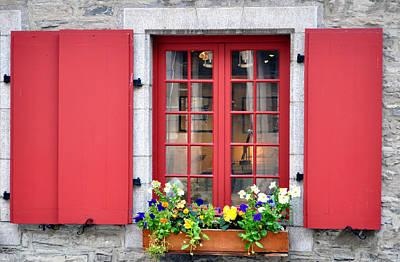 Brick House Photograph - Old Window. by Fernando Barozza