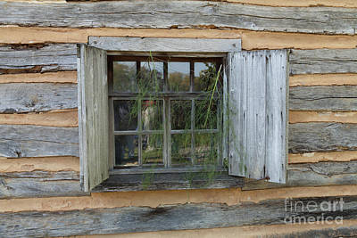 Photograph - Old Window by George Sheldon