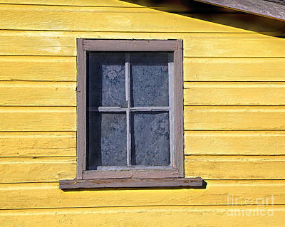 Photograph - Old Window by Jon Burch Photography
