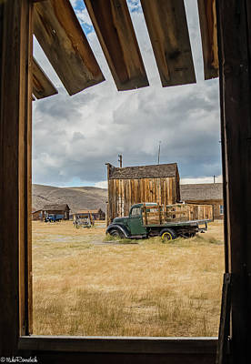 Photograph - Old Window by Mike Ronnebeck