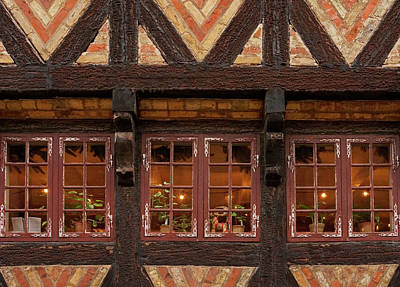 Photograph - Old Windows - 365-275 by Inge Riis McDonald