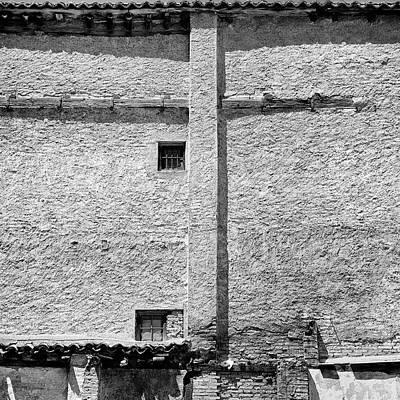 Old Windows Albaicin Granada Art Print