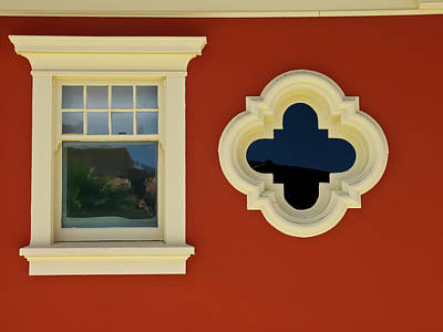Photograph - Old Windows by Roger Mullenhour
