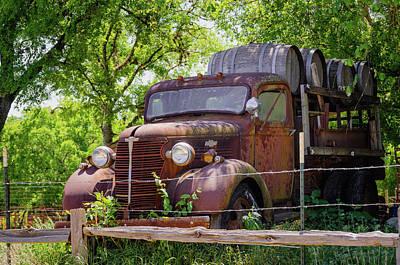 Photograph - Old Wine by Debra Martz