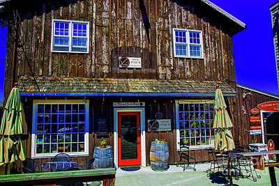Photograph - Old Wine Shop by Rick Bragan