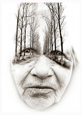 Photograph - Old Woman  by Daliana Pacuraru