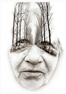 Photograph - Old Woman  by Daliana Pacuraru