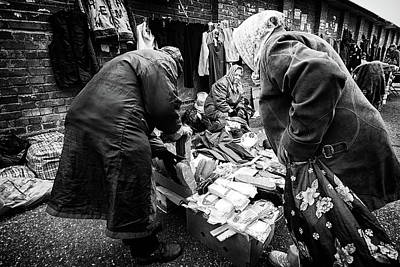 Photograph - Old Women And Warm Insoles by John Williams