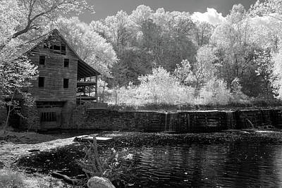 Photograph - Old Wood Mill Louisa Va by Paul Seymour