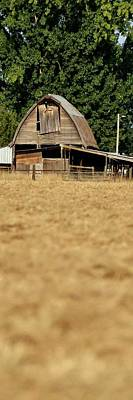 Jerry Sodorff Royalty-Free and Rights-Managed Images - Old Wooden Barn by Jerry Sodorff