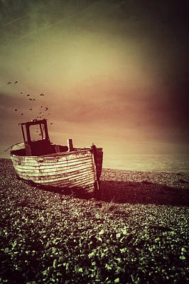 Photograph - Old Wooden Boat by Ethiriel Photography