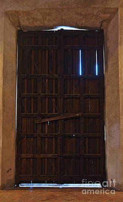 Photograph - Old Wooden Church Door by Angelo DeVal