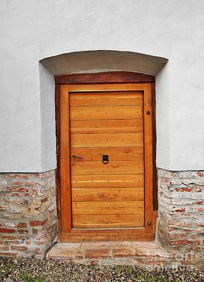 Photograph - Old Wooden Door 2 by Erika H