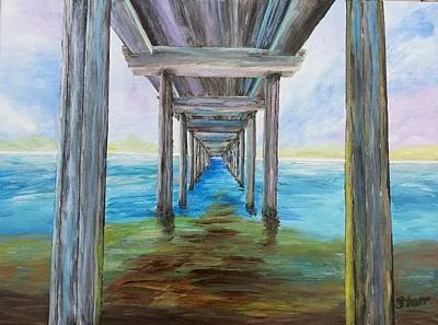Most Popular Painting - Old Wooden Pier by Irving Starr