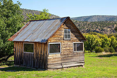 Photograph - Old Wooden Shed by SR Green
