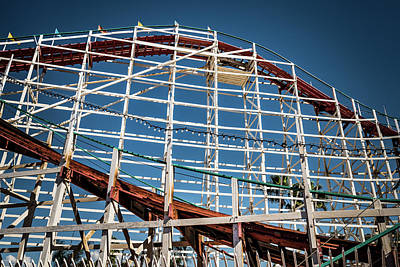 Photograph - Old Woody Coaster by T Brian Jones