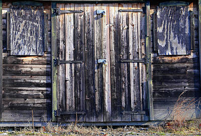 Photograph - Old Work Shed by Mary Bedy