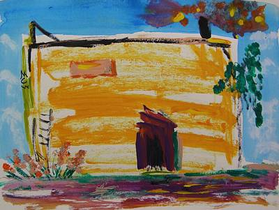 Painting - Old Working Mill by Mary Carol Williams