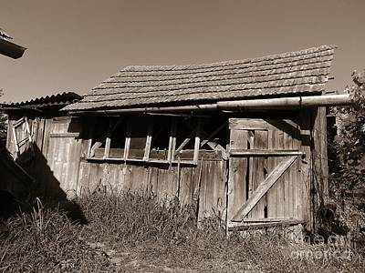 Photograph - Old Workshop by Erika H