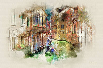 Digital Art - Old World Charm by Peter Kennett