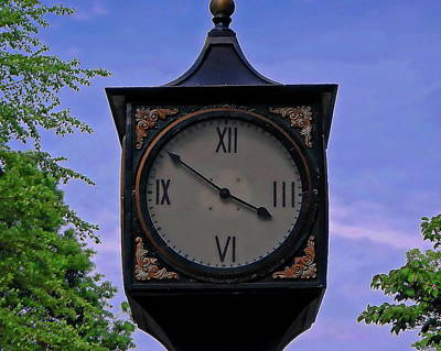 Photograph - Old World Clock by Anthony Dezenzio