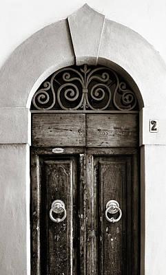 Door Photograph - Old World Door by Marilyn Hunt