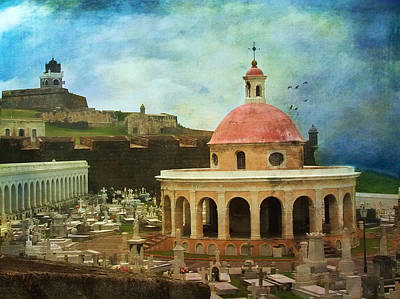 Art Print featuring the photograph Old World by John Rivera