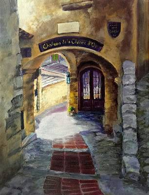 Painting - Old World Passage by Connie Schaertl