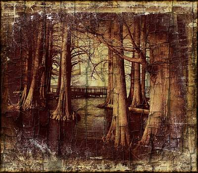 Old World Reelfoot Lake Art Print by Julie Dant