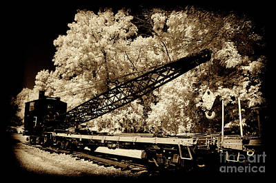 Photograph - Old Wrecker Crane by Paul W Faust - Impressions of Light