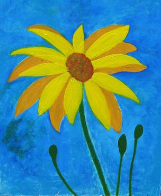 Painting - Old Yellow  by John Scates