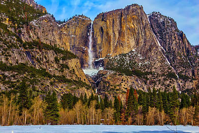 Photograph - Old Yosemite Falls by Garry Gay