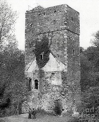 Photograph - Oldcourt Castle, Bray by Val Byrne