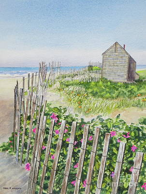 Painting - Olde Cape Cod by Karol Wyckoff