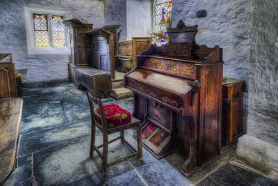 Photograph - Olde Church Organ by Ian Mitchell
