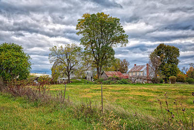 Photograph - Olde Farmstead by John M Bailey