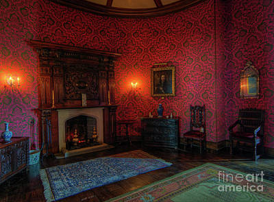 Photograph - Olde Fireplace by Ian Mitchell