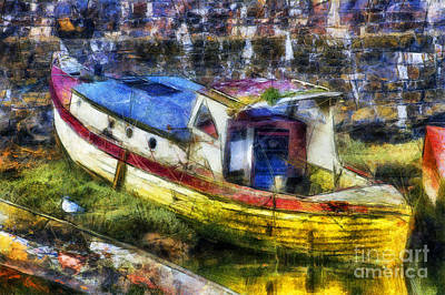 Photograph - Olde Fishing Boat by Ian Mitchell