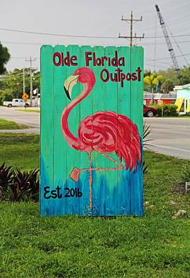 Photograph - Olde Florida Outpost by Michiale Schneider